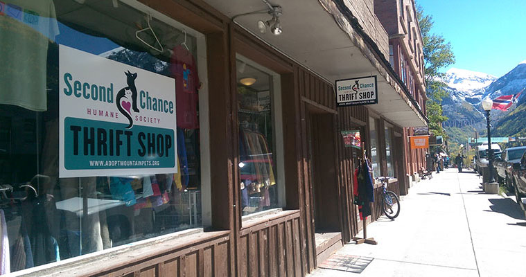 Second Chance Thrift Shops